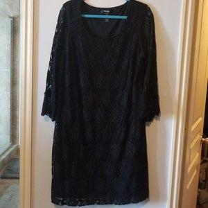 Black Lace Dress Style & Co Size 2XL